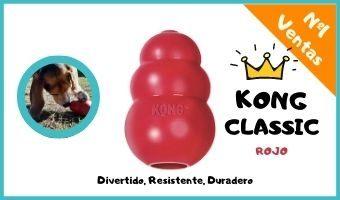 kong classic juguete para perros resistente de caucho natural para morder para perros grandes comprar precio oferta opiniones