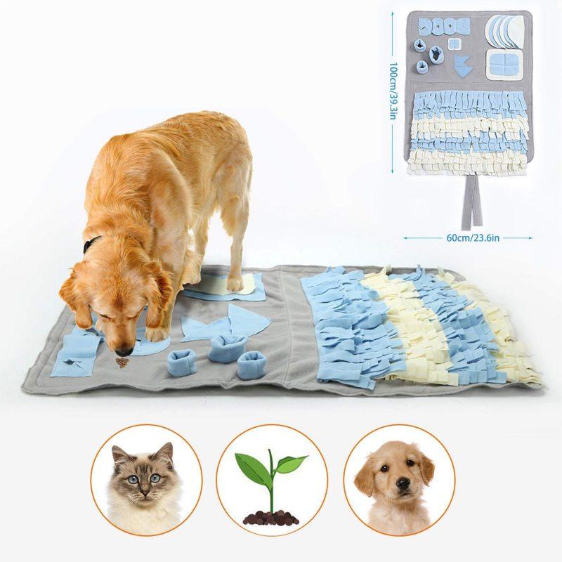 juguetes inteligentes para perros alfombra olfativa para perros snuffle mat comprar ofertas precio opiniones