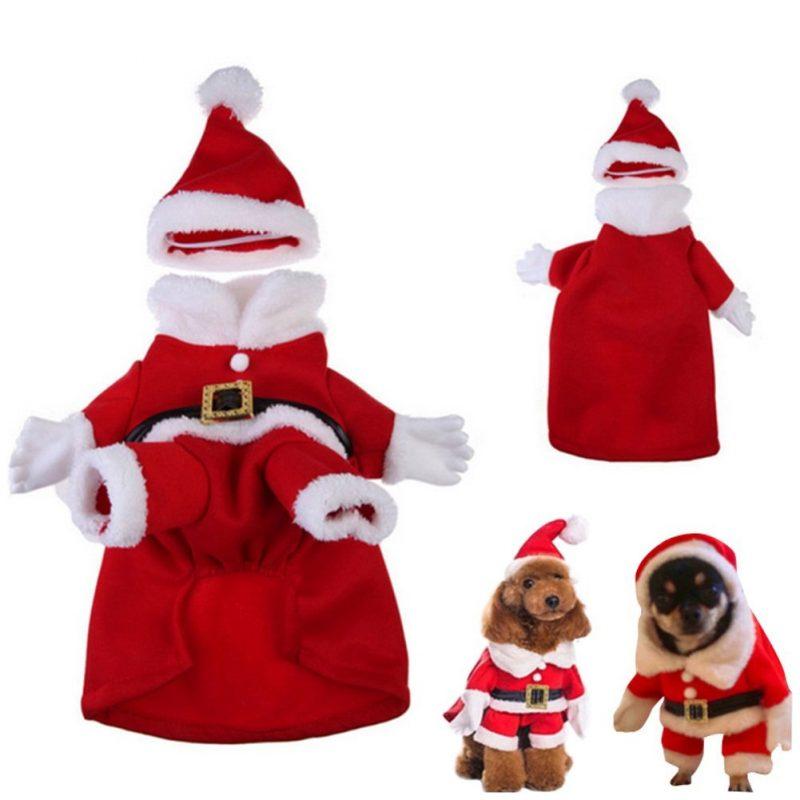 disfraz de papa noel para perros comprar ofertas precios opiniones baratos comprar disfraz de papa noel para perros grandes pequeños chihuahua navidad
