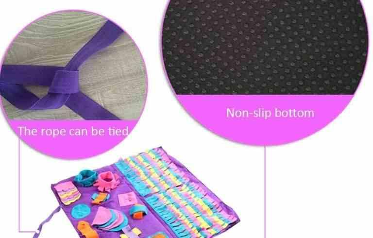 alfombra olfativa para mascotas almohadilla para olfatear perros entrenamiento intelectual olfato estera de alimentacion del perro las mejores comprar ofertas precio opiniones catalogo tienda online amazon
