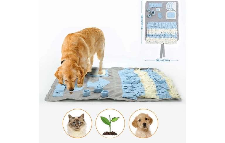alfombra olfativa  yasi snuffle mat para perros manta para la nariz  comprar ofertas precio baratas opiniones catalogo tienda online amazon