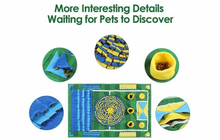 alfombra olfativa snuffle mar para perros alfombra de olfato juegos de olfato para perros comprar ofertas precio catalogo opiniones tienda online amazon las mejores