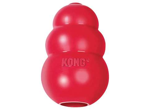 kong classic juguete resistente para perros beagle